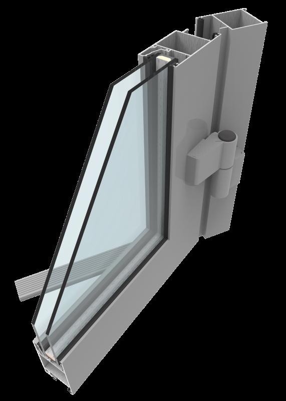 Разрез - стекло